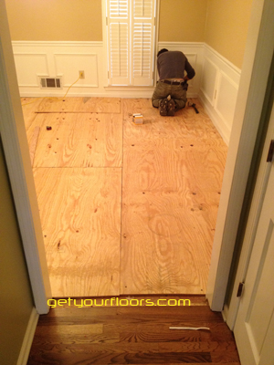 hardwood floor installation and refinishing in Lawrenceville / Connemara area