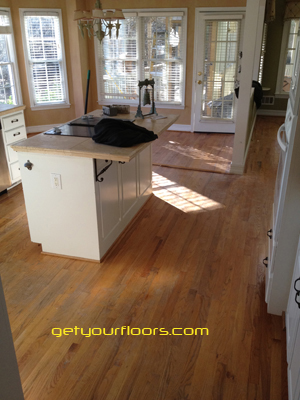 Hardwood floor refnishing in Lawrenceville 30045 - Webb Gin House Rd