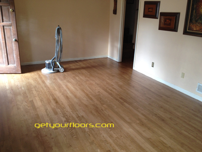 hardwood floor refinishing in lawrenceville